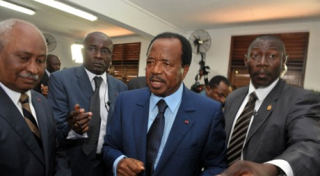 Paul Biya, le 9 octobre 2011. Seyllou/AFP