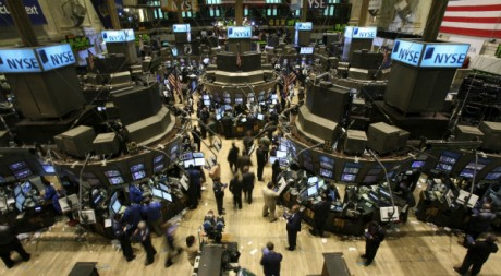 Bourse de New York, octobre 2008. Reuters/Brendan McDermid.