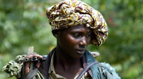 Un rebelle dans l'est de la RDC. REUTERS/ Radu Sigheti