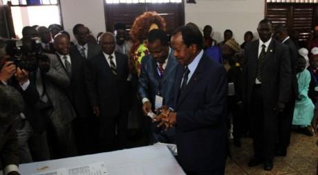 Paul Biya, le 9 octobre 2011. Akintunde Akinleye/REUTERS