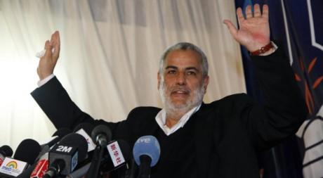 Abdelilah Benkirane, le dirigeant du PJD (Parti pour la justice et le développement) à Rabat le 27 novembre 2011.