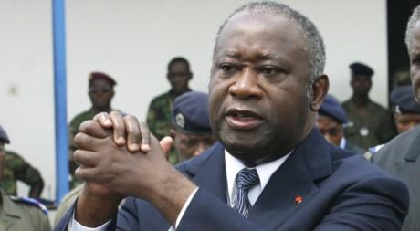 Laurent Gbagbo le 11 avril 2010 à Abidjan. REUTERS/Luc Gnago