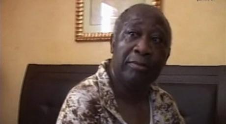 Laurent Gbagbo le 11 avril 2011 à Abidjan, lors de son arrestation. REUTERS