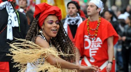 Carnaval de Bordeaux le 1er mars 2009. AFP/PIERRE ANDRIEU