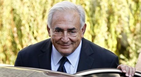 Dominque Strauss Kahn, le 29 Septembre 2011 à Paris. REUTERS/Charles Platiau