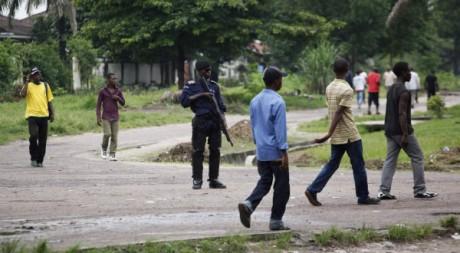 Climat sous tension à Kinshasa, 9 décembre 2011. © Stringer/Reuters