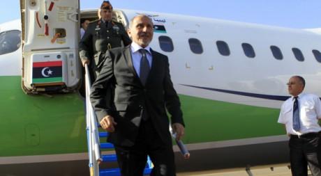Président du CNT libyen, Moustafa Abdel Jalil, 25 novembre 2011, à Khartoum. REUTERS/ Mohamed Nureldin Abdallah.