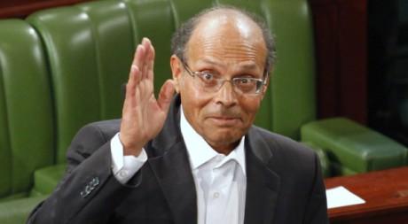 Moncef Marzouki, le 12 décembre 2011 à Tunis. REUTERS/ Zoubeir Souissi
