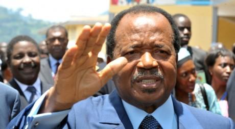 Paul Biya, le 9 décembre. AFP/Seyllou