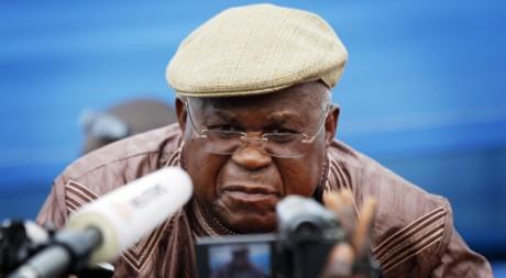 Etienne Tshisekedi, le 27 novembre. REUTERS/Finbarr O'Reilly