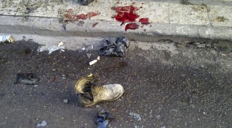 Série d'attentats à Baghdad le 22 décembre 2011.  Reuters/Saad Shalash