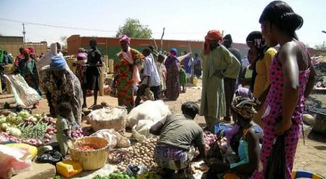Marché de Gorom Gorom, Burkina Faso. Flickr/C.hug.