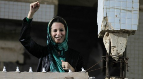 Aïcha Kadhafi à Tripoli le 15 avril 2011. REUTERS/Zohra Bensemra