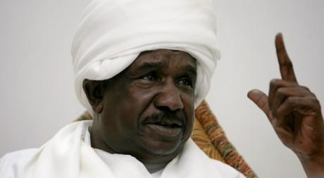 Mohammed Ahmed Mustafa al-Dabi à Khartoum le 21 décembre 2011.AFP/ ASHRAF SHAZLY