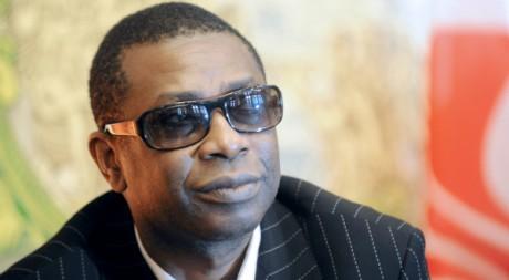 Youssou Ndour au Forum mondial de l'Economie Responsable le 20 novembre 2009 à Lille, en France. AFP/Denis Charlet