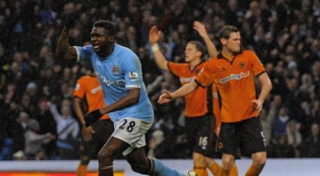 Kolo Touré, le 15 janvier 2011. REUTERS/Nigel Roddis