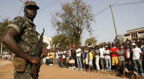 Les funérailles du président Vieira, le 10 mars 2009. REUTERS/ Luc Gnago
