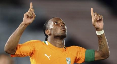 Didier Dogba, le 13 janvier 2012. REUTERS/Stringer
