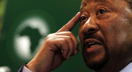 Jean Ping, le président de la commission de l'Union africaine. REUTERS/Thomas Mukoya