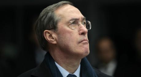 Claude Guéant, lors d'une visite à Metz, le 1er janvier 2012, REUTERS/Charles Platiau