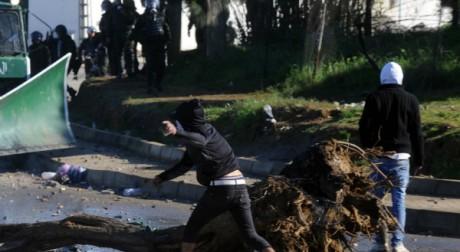 Manifestation à Alger le 31 janvier 2012. AFP/FAROUK BATICHE