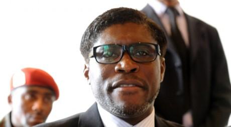 Teodorin Obiang Nguema, le 24 janvier 2012. Abdelhak Senna/AFP.