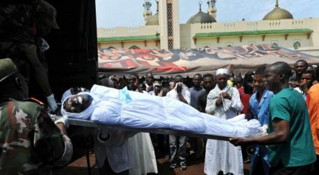 Victime du massacre de Conakry le 28 septembre 2009. AFP/SEYLLOU