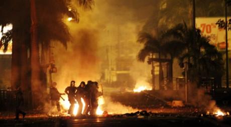 Un 2ème escadron de la gendarmerie composé de 85 hommes est attendu ce 24 février., by Richard Bouet / AFP