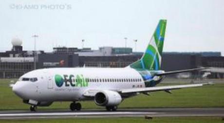 Ecair vient de se doter d'un deuxième Boeing 737-300 avec option d'un troisième appareil de même type cette année. By EI AMD