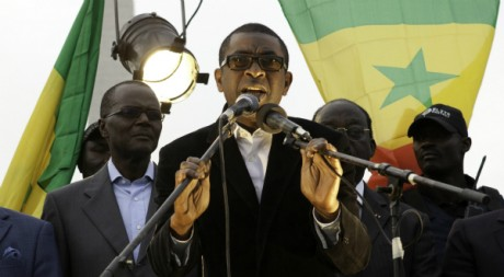 Youssou Ndour à Dakar le 5 février 2012. Reuters/Stringer