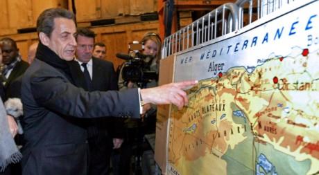 Le président sortant Nicolas Sarkozy à Nice le 9 mars 2012. AFP/CLAUDE PARIS/AFP POOL