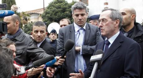 Claude Guéant à Toulouse le 22 mars 2012. Reuters/Jean-Paul Pelissier