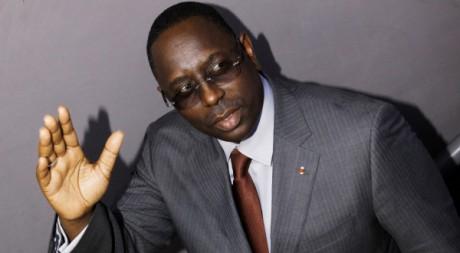 Macky Sall à Dakar le 29 février 2012. REUTERS/ Youssef Boudlal