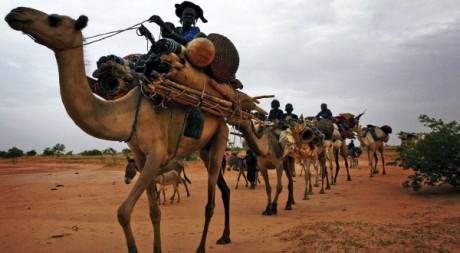 Des touaregs dans le Nord du Mali. REUTERS/Finbarr O'Reilly