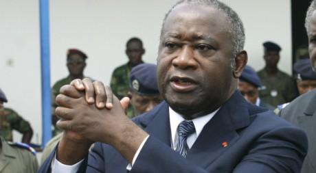 Laurent Gbagbo, à Abidjan, novembre 2003 © REUTERS/Luc Gnago