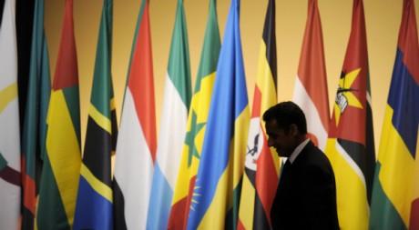 Le président français au sommet Afrique-France de Nice, 1er juin 2010. AFP PHOTO LIONEL BONAVENTURE