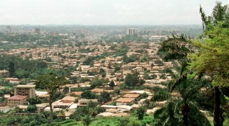 Une vue de Yaoundé, la capitale camerounaise © Jean-Philippe Ksiazek/AFP