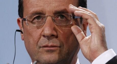 Le président français François Hollande à Berlin le 15 mai 2012. Reuters/Fabrizio Bensch