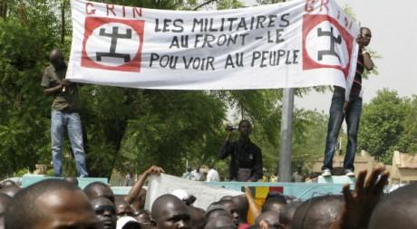 Rassemblement de Maliens à l'appel de la société civile et politique, 26 mars 2012, Bamako REUTERS/Reuters Staff