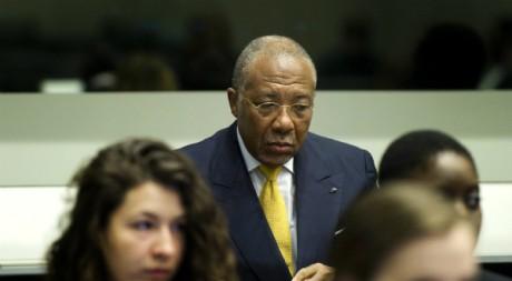 Charles Taylor, le jour de la sentence, 30 mai 2012, La Haye REUTERS/United Photos