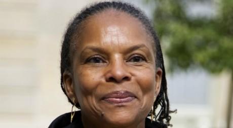 Christiane Taubira à l'Elysée le 23 mai 2012. REUTERS/Charles Platiau