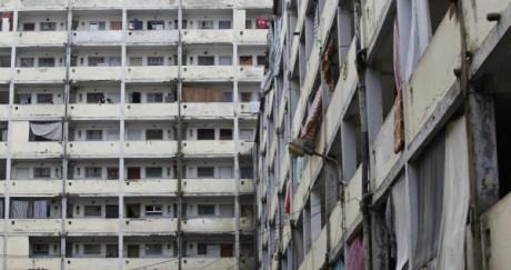 Le quartier de Diar Echams, à Alger. REUTERS/Louafi Larbi
