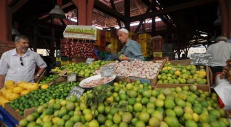 Un marché de Tunis, décembre 2012. © FETHI BELAID / AFP