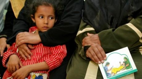 Réunion publique sur le problème de l'excision, en juin 2006 en Egypte où plus de 90% des femmes sont excisées. REUTERS/Stringer