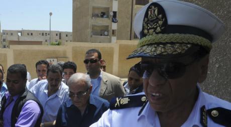Ahmed Chafiq, l'ex-Premier ministre de Moubarak et candidat à la présidentielle égyptienne, le 16 juin 2012. REUTERS/Stringer