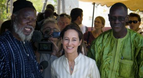 Ségolène Royal à Dakar, avril 2009. © REUTERS/Joe Penney