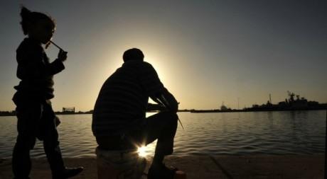 Pêcheurs en Libye à Benghazi le 15 avril 2012. REUTERS /Esam Al-Fetori