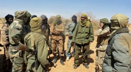 Combattants indépendantistes touareg, 6 avril 2012, © Magarehbia/flickr
