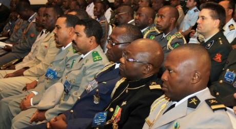 Délégués des armées africaines, lors d'une conférence à Bamako, Mali, janvier 2011 © US Army Africa