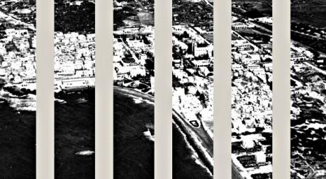 Mogadiscio : photo de la ville illustrant l'affiche de l'exposition  © Olivier Favel